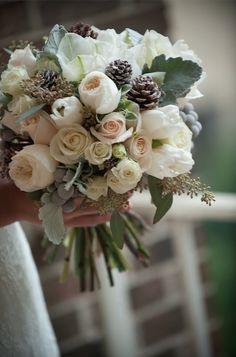 ak brides akbrides wedding flowers bridal bouquet winter wedding hot house design studio   @jerrodbrown @HotHouseStudio