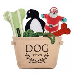 Penguin Dog Toy Set by Harry Barker