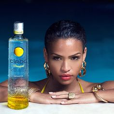 Here is another shot from my #CîrocPineapple #TropicalLuxury Campaign. #CîrocPineapple is now available everywhere!! Go try it!!