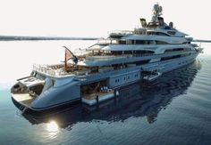 """Luxury Yatchs Mega Interior Lifestyle Design Most Expensive Boat 👉 Get Your FREE Guide """"The Best Ways To Make Money Online"""" Big Yachts, Luxury Yachts, Yacht Design, Boat Design, Yacht World, Cruiser Boat, Yacht Interior, Naval, Cool Boats"""