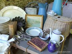French brocante (love it all!)