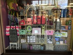 How can you not window shop here? Amazing window display by Occasions Gift Store located in Potomac, MD!