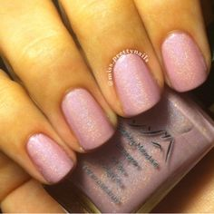 Ogin Baby Pink Holographic Nail Lacquer by SmokeyMtnLacquers, $3.95