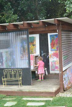 Art Playhouse and art studio for kids