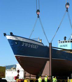 El pesquero Bernardo Alfageme rumbo al ostracismo