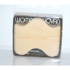 Vintage Woman Cologne Creme Soap By Jovan
