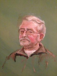 Portret van een man. 2002