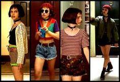 Matilda in Leon - the professional. Matilda in Leon - the professional. Fashion 90s, Grunge Fashion, Fashion Outfits, Goth Outfit, 90s Outfit, Leon The Professional Mathilda, Natalie Portman The Professional, Leon Matilda, Professional Costumes
