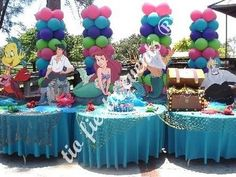 Little Mermaid party decorations