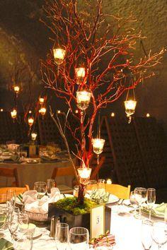 decorated manzanita branches -ditto