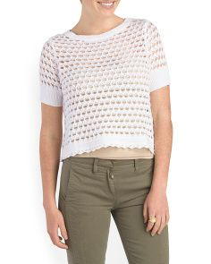 image of Santroini Sweater Tee