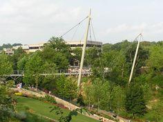Liberty Bridge at Falls Park on the Reedy - Wikipedia