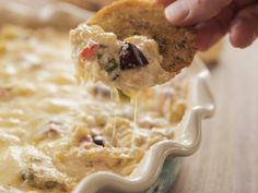 Get Mediterranean Artichoke Dip Recipe from Food Network