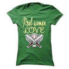Real women love Baseball - #tie dye shirt #sweatshirt quotes. ORDER NOW => https://www.sunfrog.com/Sports/Real-women-love-Baseball-Green-49121981-Ladies.html?68278