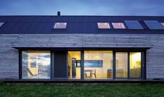 A Sustainable Long House | Homebuilding & Renovating
