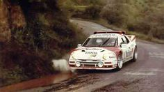 Antonio Zanini Ford Rs 200 1986