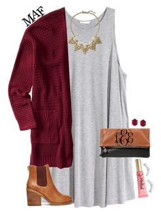 """""""Hello from the other side."""" by maliaackermann ❤ liked on Polyvore featuring H&M, Aéropostale, Clare V., Windsor Smith, Too Faced Cosmetics, Kendra Scott, NARS Cosmetics and Banana Republic"""