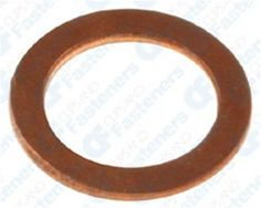 50 8mm Copper Washers 8.2mm I.D. 11.8mm O.D. Clipsandfasteners Inc