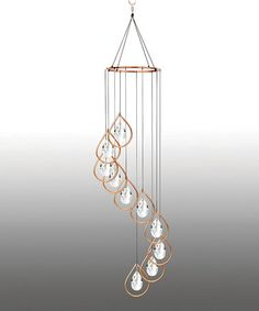 Another great find on #zulily! Copper Teardrop Wind Chime #zulilyfinds