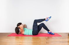 Toe Taps #abs #workouts #fitness…