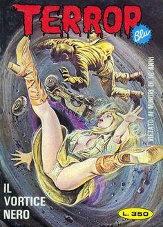 Cover for Terror blu (Ediperiodici, 1976 series) #48