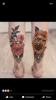 I'd love these flowers around my sugar skulls on my ankles