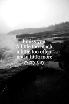 Beautiful love Quotes about Missing Someone special you love far away, someone who died or you never had. Make someone happy with these missing quotes. Now Quotes, Couple Quotes, Great Quotes, Inspirational Quotes, Life Quotes, Be You Quotes, Miss You Mom Quotes, Caring Quotes For Him, Missing Someone You Love