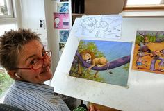 Lynne Chapman - An Illustrator's Life For Me!: working on Jungle Grumble