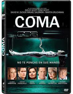 'COMA' es la miniserie de TV producida por Tony Scott y Ridley Scott y basada en el Best Seller homónimo de Robin Cook que se estrenó en España de la mano de Calle 13 y ahora llega gracias a Sony Pictures Home Entertainment su edición DVD. La miniserie es uno de los últimos trabajos realizados por Tony Scott, quien siempre ha demostrado su valía con películas como la famosa 'Top Gun'.