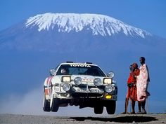 Safari Rally 1987, Lars-Erik Torph, Toyota Supra BZ219