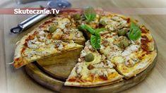 Szybka pizza na tortillach z serem Vegetable Pizza, Pesto, Vegetables, Cooking, Food, Kitchen, Essen, Vegetable Recipes, Meals