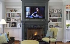 Best Fireplace Mantel Height With Tv Above Inspirations