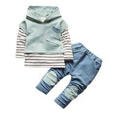 FEITONG Toddler Baby Boy Girls Outfit Floral Hoodie Tops Pants Outfits 18Months Green >>> Read more reviews of the product by visiting the link on the image.(It is Amazon affiliate link) #BabyBoyClothingCollection