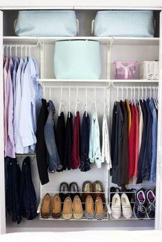 Απίστευτες λύσεις για να οργανώσετε την ντουλάπα σας - Daddy-Cool.gr