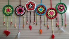 Dreamcatchers op basis van armbanden.