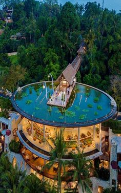 Four Seasons Resort Bali At Sayan has been recognized as one of the world's be. - Four Seasons Resort Bali At Sayan has been recognized as one of the world's best resorts on the C - Vacation Places, Dream Vacations, Amazing Architecture, Architecture Design, Futuristic Architecture, Resort Bali, City Resort, Resort Villa, Luxury Homes Dream Houses