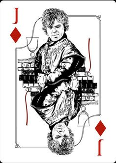 Playing Cards - Jack Of Diamonds, Tyrion, Game Of Thrones Playing Cards by Paul Nojima, Time Void - playingcards, playingcardsart, playingcardsforsale, playingcardswithfriends, playingcardswiththefamily, playingcardswithfamily, playingcardsgame, playingcardscollection, playingcardstorage, playingcardset, playingcardsfreak, playingcardsproject, cardscollectors, cardscollector, playing_cards, playingcard, design, illustration, cardgame, game, cards, cardist