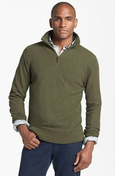 Men's Merino Wool Cable Half-Zip Sweater - Timberland | TIMBERLAND ...