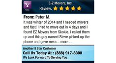 It was winter of 2014 and I needed movers and fast! I had to move out in 4 days and I...