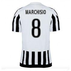 Fodboldtrøjer Series A Juventus 2016-17 Marchisio 8 Hjemmetrøje