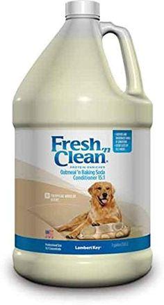 Lambert Kay Fresh 'N Clean Oatmeal 'N Baking Soda Dog Conditioner, 1-Gallon #doggrooming
