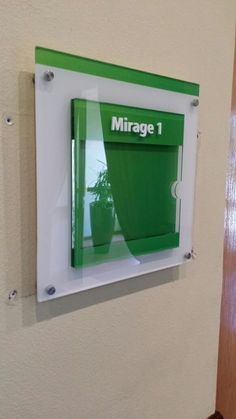 Holiday Inn meeting room sign.  #meeting #boardroom #sign #green #design Hotel Signage, Room Signs, Bathroom Medicine Cabinet, Smoking, Garden Design, Holiday, Green, Projects, Log Projects