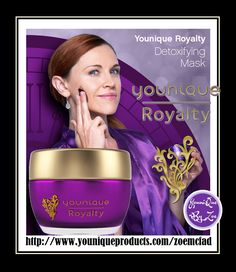 Detoxifying Mask BEAUTY UNMASKED An infusion of oxygen for brighter, more youthful-looking skin Unmask the life and beauty of your skin with the Younique Royalty Detoxifying Mask, a product created to help improve the appearance of your skin with a foaming, tingling, luxurious sensation. #younique  #youniqueroyalty #skincare #newzealand  #makeup #cosmetics