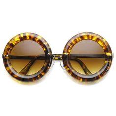 c57229d1b2 Retro 1950 s Women s Fashion Donut Round Retro Sunglasses 8971