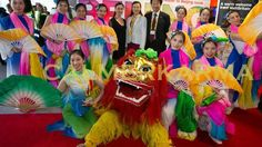 chinese themed dancers to hire ribbon fan dancers manchester calmer karma entertainment chinese new year entertainment