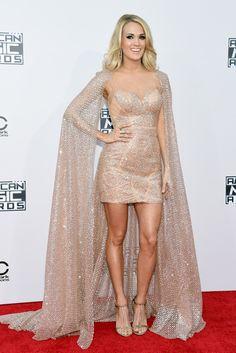 Carrie Underwood American Music Awards, Arrivals, Los Angeles, America – 22 Nov 2015
