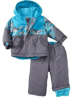 Snow Jacket & Snow Pant Sets for Baby | Old Navy