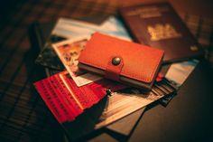 Travel light and safe with your Secrid Miniwallet Crisple Orange  • #Secrid