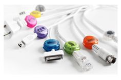 """Dotz cord labels - Never ask yourself """"what does this cord go to?"""" again!"""