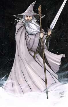 Original Comic Art titled Sketch of the Day: Gandalf the Grey, located in Tom's Sketch A Day! Gandalf, Hobbit Art, O Hobbit, Jrr Tolkien, Character Sketches, Character Design, Sketch A Day, Viking Age, Dark Lord